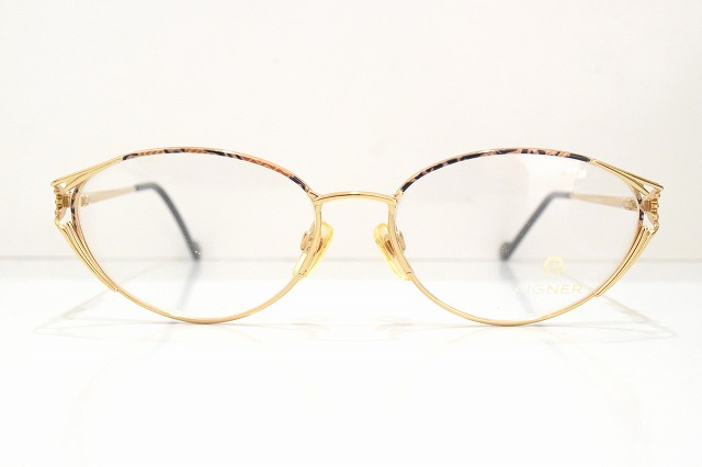 AIGNER(アイグナー)EA313 401ヴィンテージメガネフレーム新品めがね眼鏡サングラスドイツ製メンズレディースブランド
