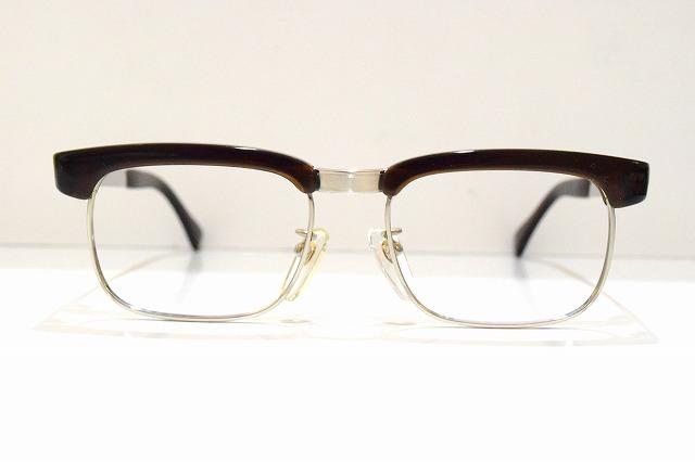 セルロイド製サーモント(483)ヴィンテージメガネフレーム新品鯖江めがね眼鏡サングラスブロークラシックサンプラチナ999,9