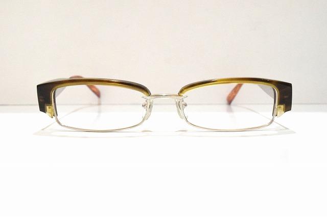 G.O.M T-541 col.A5ヴィンテージメガネフレーム新品めがね眼鏡サングラスブロークラシックメンズレディース男性女性