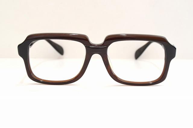 KOKI(コーキ)MONTANA ブラウンヴィンテージメガネフレーム新品めがね眼鏡サングラスモンタナ激レアオールドスクール