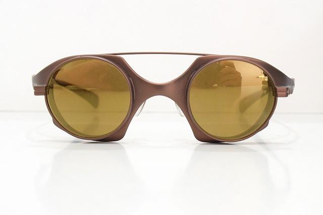 X-isle stealth col.DCMヴィンテージサングラス新品メガネフレームめがね眼鏡ターミネーターメンズレディースブランド日本製