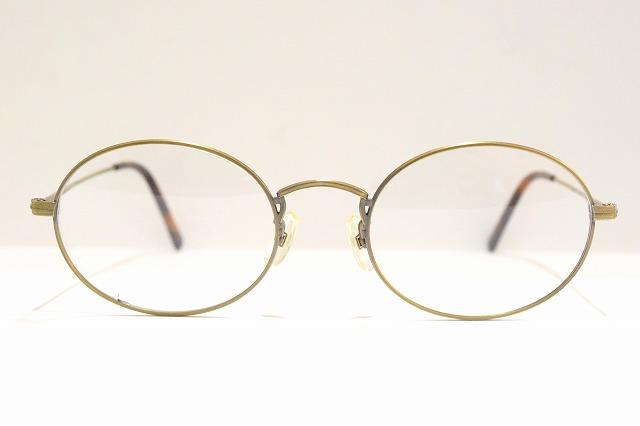 KENT(ケント)8140 col.3ヴィンテージメガネフレーム新品めがね眼鏡サングラスクラシックアンティークゴールド彫金