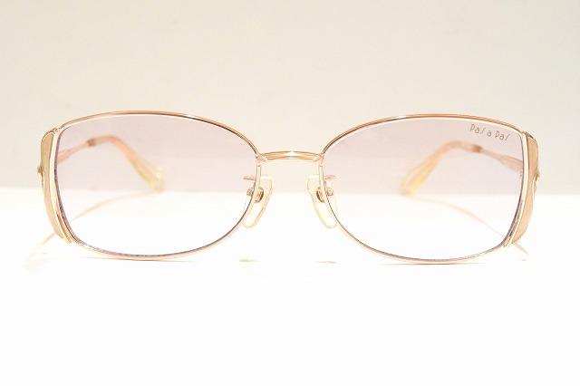 PaSaPaS(パサパ)3003 col.PKヴィンテージメガネフレーム新品めがね鯖江眼鏡サングラス日本製レディース婦人用女性用