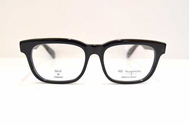 宮本眼鏡Voc No.12 col.1メガネフレーム新品めがね鯖江眼鏡サングラスセルロイド職人手作りメンズレディース黒ぶち