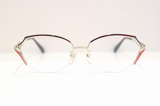 PaSaPaS(パサパ)3004 col.GNTヴィンテージメガネフレーム新品めがね眼鏡サングラスレディース婦人女性用鯖江七宝