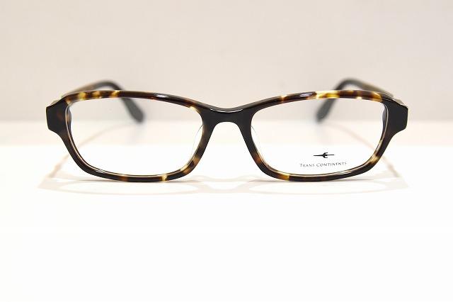 TRANS CONTINENTS(トランスコンチネンツ)TCF-5020 col.02メガネフレーム新品めがね眼鏡サングラスべっ甲柄ウルテム