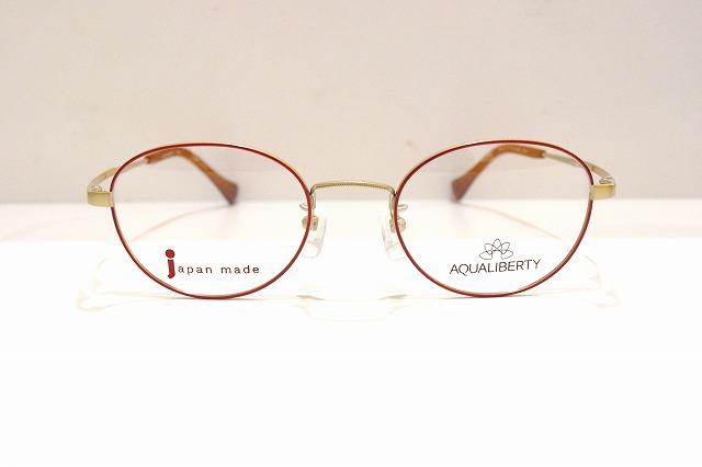 AQUALIBERTY(アクアリバティ)AQ22511 col.WIメガネフレーム新品めがね眼鏡サングラスボストン型クラシック日本製