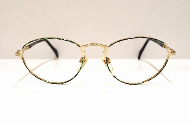 AIGNER(アイグナー)EA266 col.100ヴィンテージメガネフレーム新品めがね眼鏡サングラス彫金レディース婦人女性用