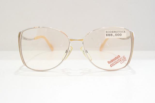 Rodenstock(ローデンストック)DE LUXE 7050 Cヴィンテージメガネフレーム新品めがね眼鏡サングラス18KT18金メンズレディース