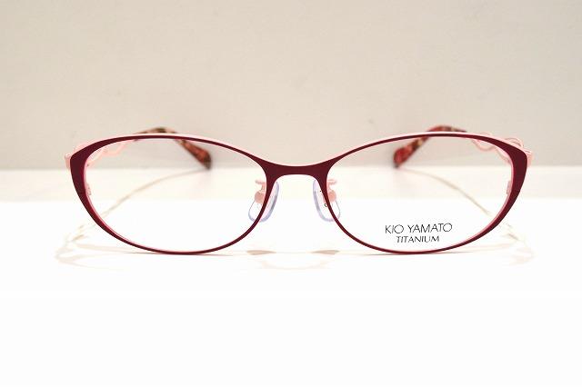 KIO YAMATO(キオヤマト)KT-483J col.01メガネフレーム新品めがね眼鏡サングラスバイカラー掛け心地女性レディース婦人用