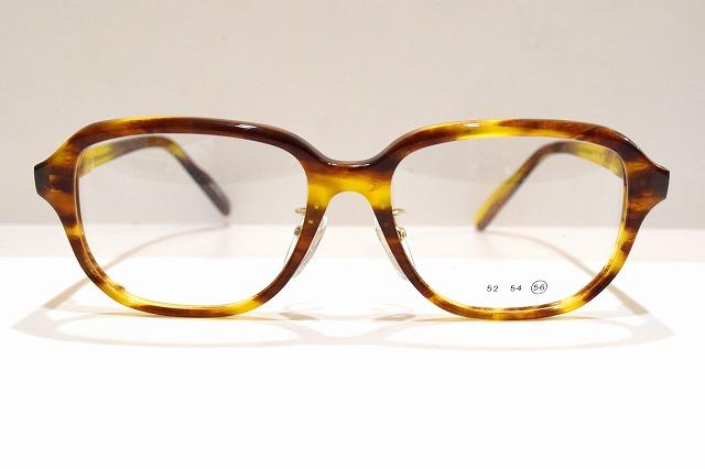 宮本眼鏡Voc No.556 col.イエローラインメガネフレーム新品めがね眼鏡サングラス日本製メンズレディース職人手作り