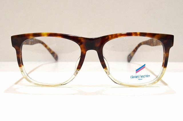 daniel hechter(ダニエル・エシュテル)Y-970 col.MDメガネフレーム新品めがね眼鏡サングラスセルロイドべっ甲柄ブランド
