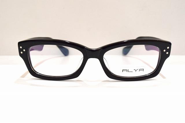 PLYA AL017 col.10ヴィンテージメガネフレーム新品めがね眼鏡サングラス黒ぶちクラシックメンズレディースブランド