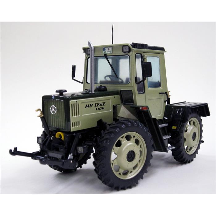 【送料無料】 Weise-Toys ワイズトイズ モデルカー メルセデス・ベンツ MB-Trac 1100 トラクター グレー (1987-1991) 【正規品】