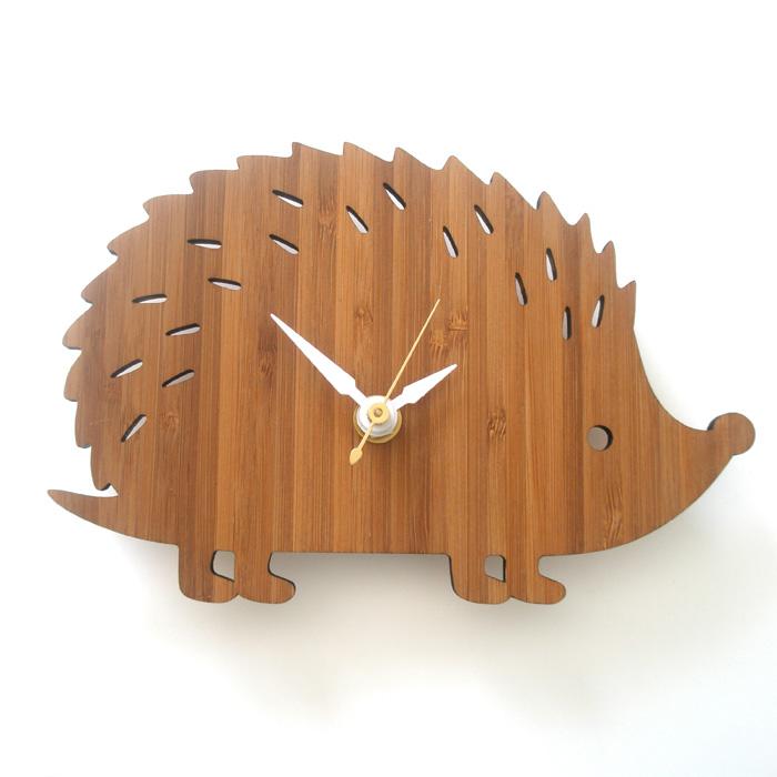 【送料無料】 DECOYLAB デコイラボ 掛け時計 HEDGEHOG-S(ハリネズミS) 【正規品】