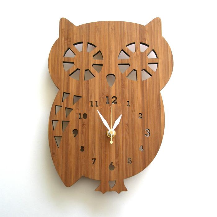【送料無料】 DECOYLAB デコイラボ 掛け時計 BUDDY OWL(ミミズク) 【正規品】