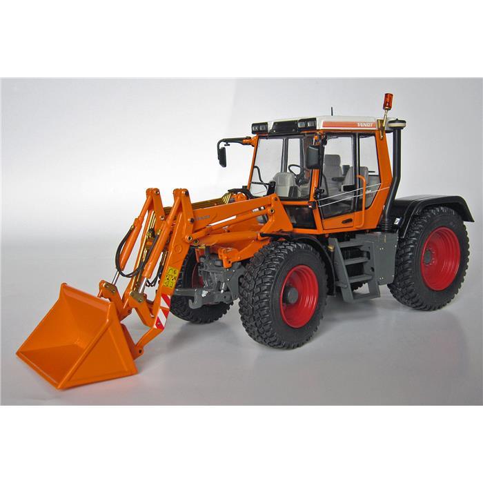 【送料無料】 Weise-Toys ワイズトイズ モデルカー フェント ザイロン 524 トラクター フロントローダー付 (1994-2004) 【正規品】