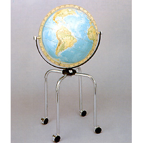 【送料無料】 WATANABE 渡辺教具製作所 地球儀 大型地球儀 GB (No.4504) 【正規品】
