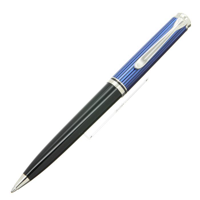 【7/30までポイント10倍】【送料無料】 Pelikan ペリカン ボールペン スーベレーン K805 ブルー縞 【正規品】