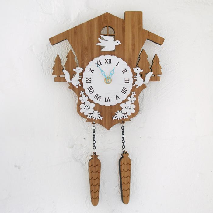 【送料無料】 DECOYLAB デコイラボ 掛け時計 CUCKOO A(カッコーA) 【正規品】