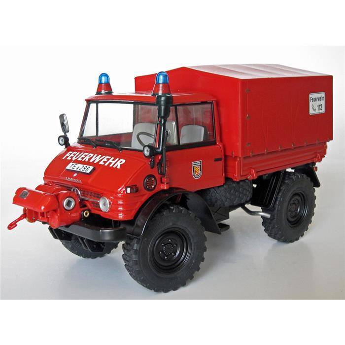 【送料無料】 Weise-Toys ワイズトイズ モデルカー メルセデス・ベンツ ウニモグ 406 消防車 (1971-1989) 【正規品】