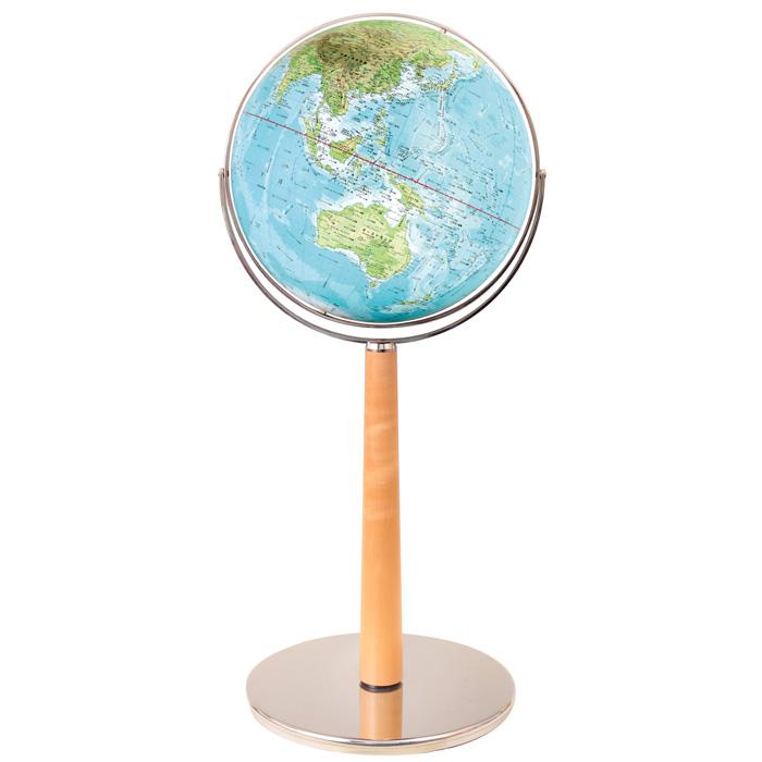 【送料無料】 WATANABE 渡辺教具製作所 地球儀 大型地球儀 GC 地勢タイプ (No.4506) 【正規品】