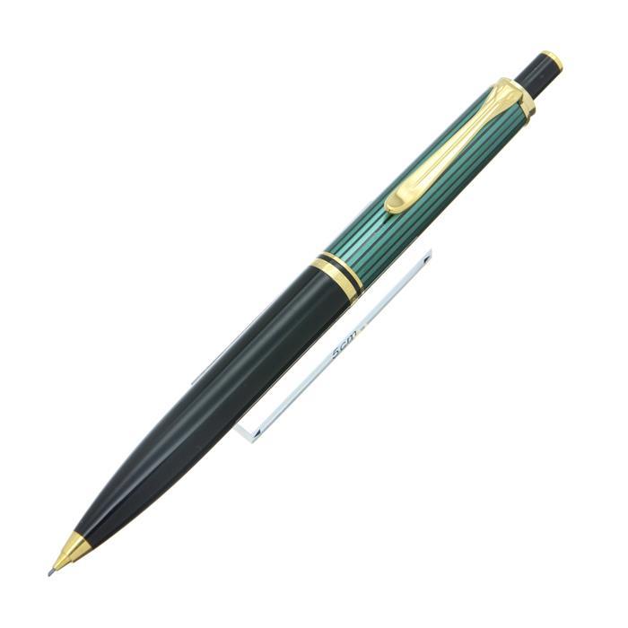 【7/30までポイント10倍】【送料無料】 Pelikan ペリカン メカニカルペンシル スーベレーン D400 0.7mm 緑縞 【正規品】