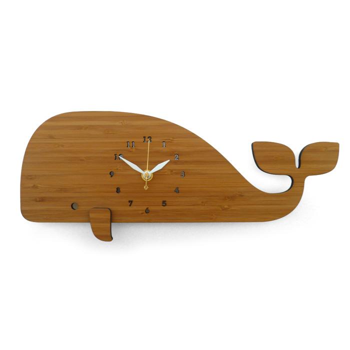 【送料無料】 DECOYLAB デコイラボ 掛け時計 WHALE(クジラ) 【正規品】