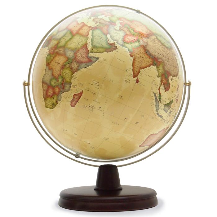【送料無料】 WATANABE 渡辺教具製作所 地球儀 リブラ アンティーク調 (No.3057) 【正規品】