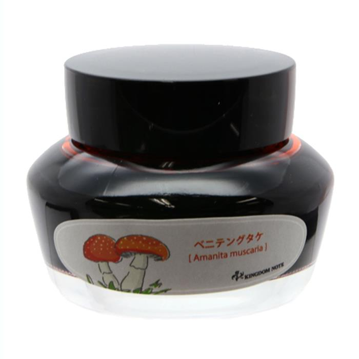 """Brand new"" SAILOR sailor bottle ink another Kingdom notes note Japan biological series round 3 ""mushroom"" fly agaric 50 ml"
