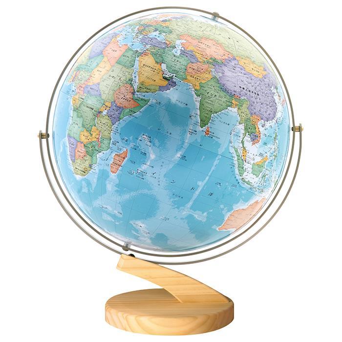 【送料無料】 WATANABE 渡辺教具製作所 地球儀 リブラ 木台 (No.3052) 【正規品】