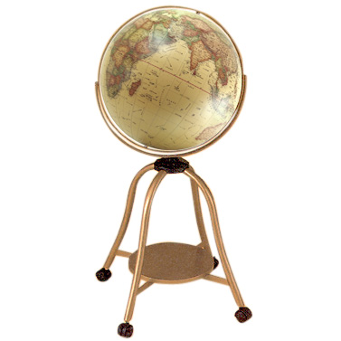 【送料無料】 WATANABE 渡辺教具製作所 地球儀 大型地球儀 GA 行政タイプ (No.4507) 【正規品】