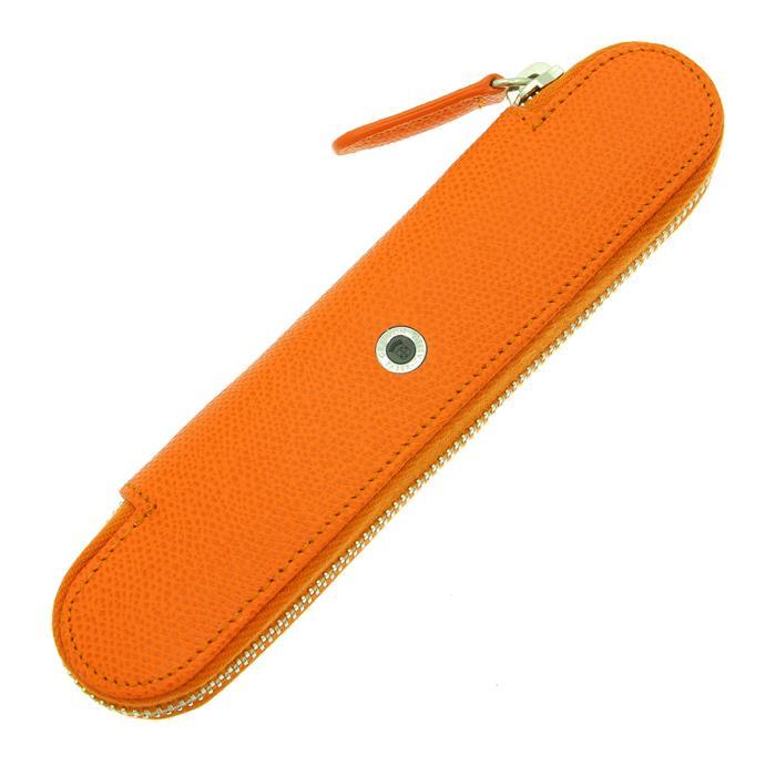 【送料無料】 GRAF VON FABER-CASTELL グラフフォンファーバーカステル ペンケース 1本挿 バーントオレンジ 【正規品】