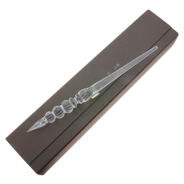 【送料無料】 Okamoto Tsunehide 岡本常秀 吹きガラスペン CLASSIC clear 【正規品】