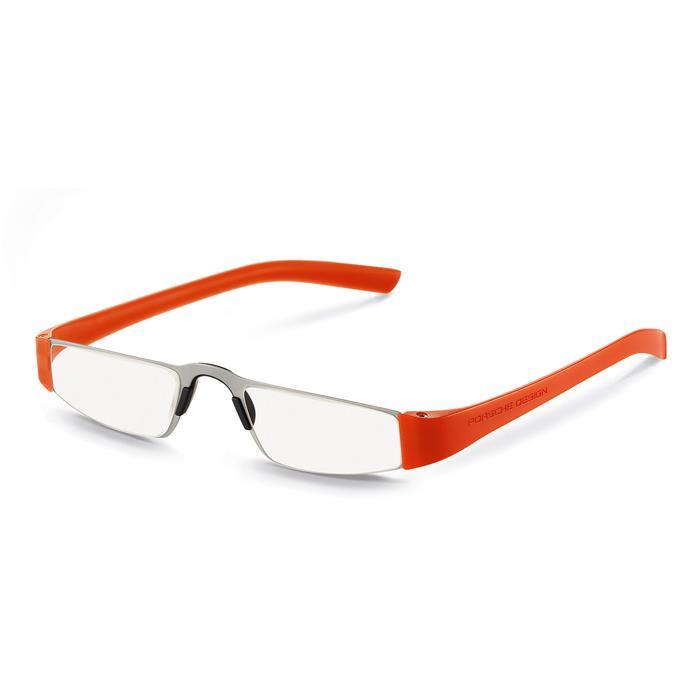 【送料無料】 PORSCHE DESIGN ポルシェデザイン リーディンググラス P8801 オレンジ +1.50 【正規品】