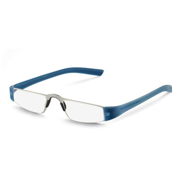 【送料無料】 PORSCHE DESIGN ポルシェデザイン リーディンググラス P8801 ブルー +2.00 【正規品】