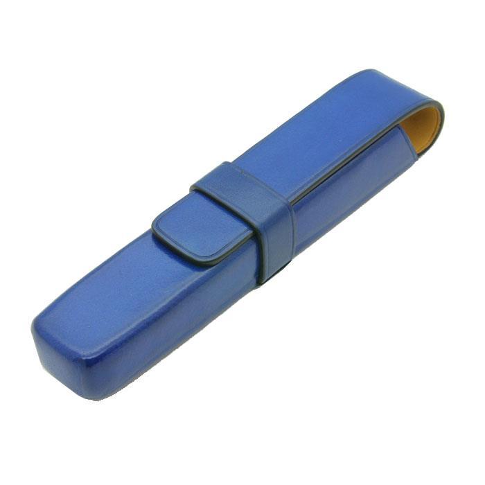 【送料無料】 IL Bussetto イル・ブセット ペンケース 1本用 ブルー 【正規品】