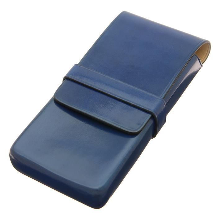 【送料無料】 IL Bussetto イル・ブセット ペンケース 3本用 ブルー 【正規品】