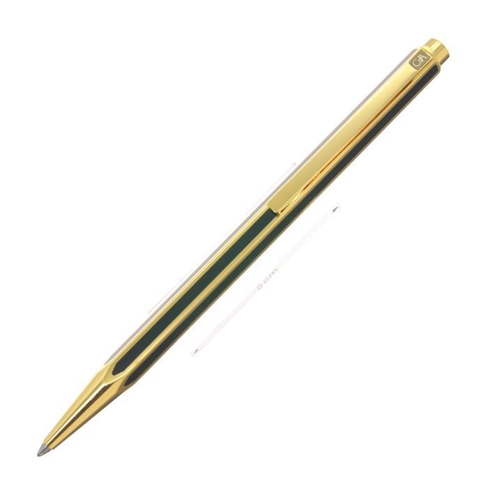 CARAN d'ACHE カランダッシュ ボールペン ヘクサゴナルコレクション チャイニーズラッカー ブラック【中古-並品】【[SAS]対象】【ポイント5倍!】