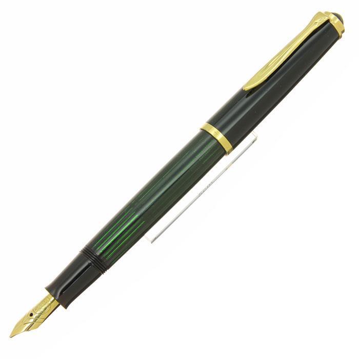 【中古】【良品】Pelikan ペリカン 万年筆 #400NN M&K 黒縞 M 【[SAS]対象】【ポイント5倍!】