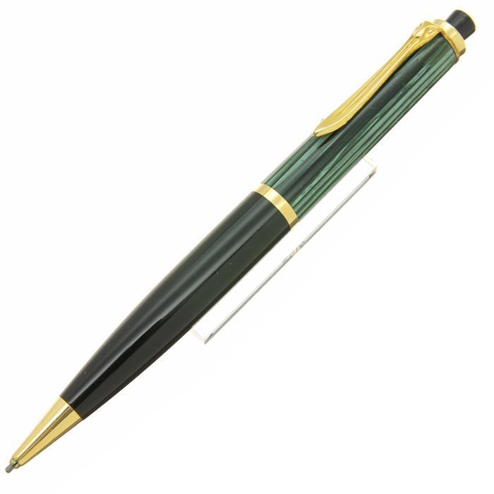 【中古】【並品】Pelikan ペリカン メカニカルペンシル #450 緑縞 1.18mm 【[SAS]対象】【ポイント5倍!】