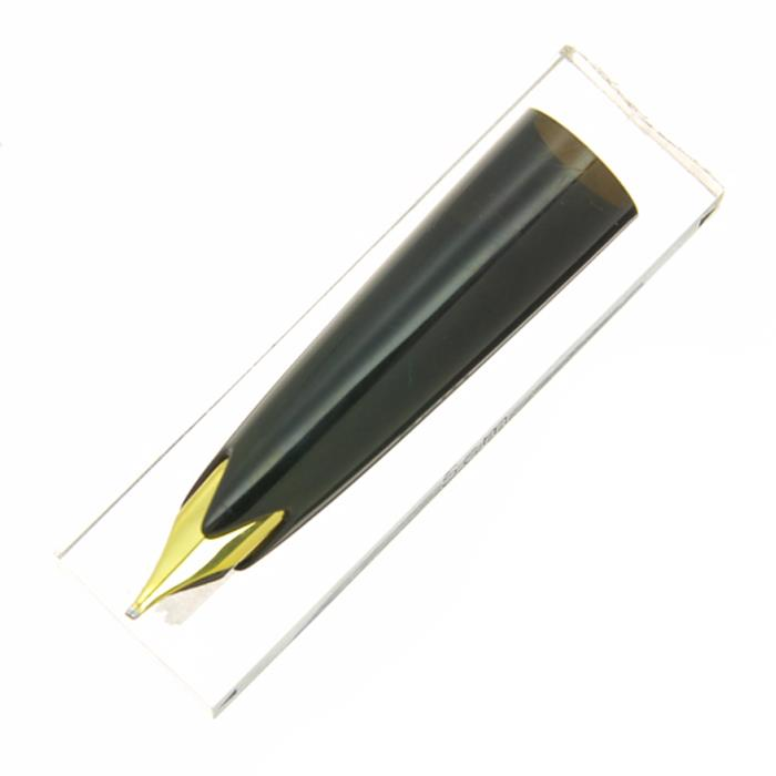 【中古】【良品】MONTBLANC モンブラン 交換用ペン先 #12用 ブラック 18C/OB (フード付き) 【ポイント5倍!】