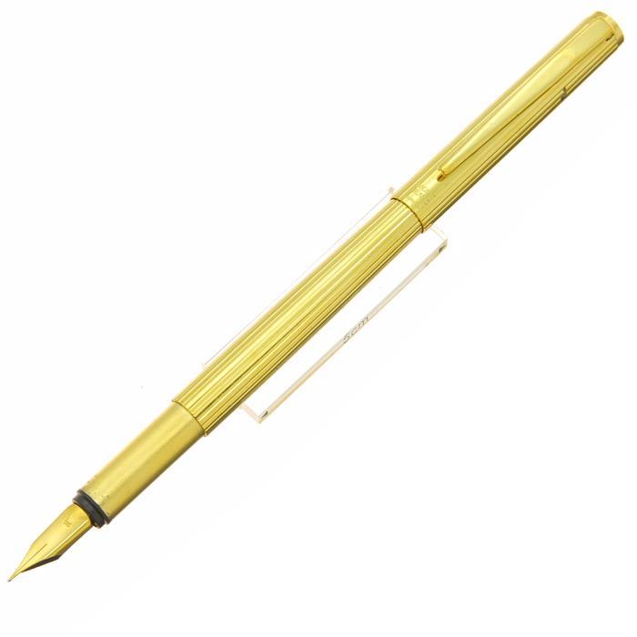 【中古】【並品】MONTBLANC モンブラン 万年筆 ノブレス ゴールド 20金張 F 【[SAS]対象】【ポイント5倍!】