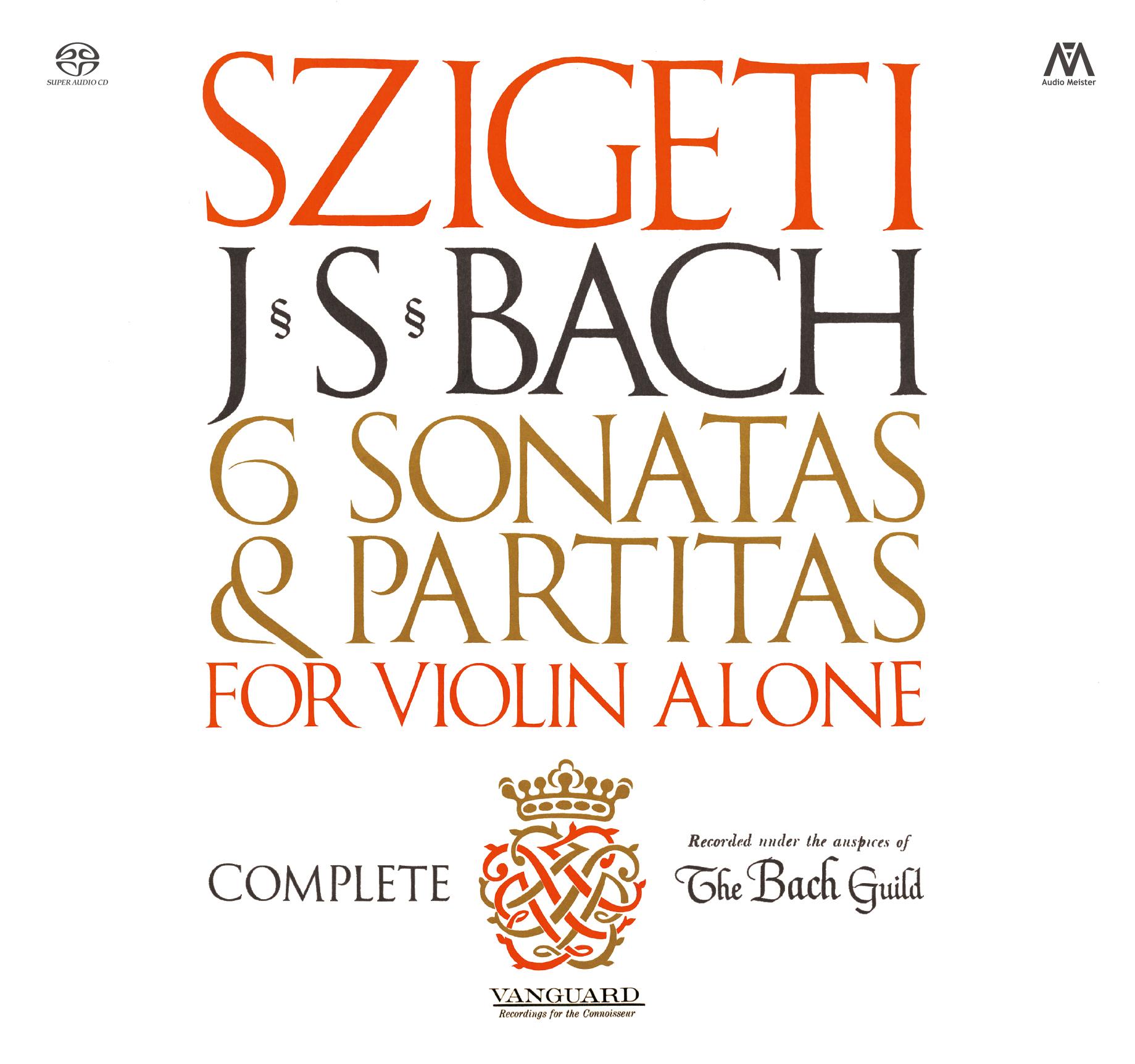 卓出 J.S.バッハ:無伴奏ヴァイオリンのためのソナタとパルティータ BWV1001~1006 全曲 品質保証