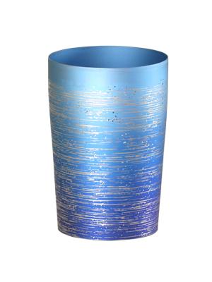 【送料無料】新潟 燕三条 [HORIE]ホリエ 純チタンタンブラー 敬老の日にオススメ純チタンコップ 純チタンカップは飲み物を美味しくまろやかに演出します。 チタン二重タンブラー 涼 270ml 小 ブルー
