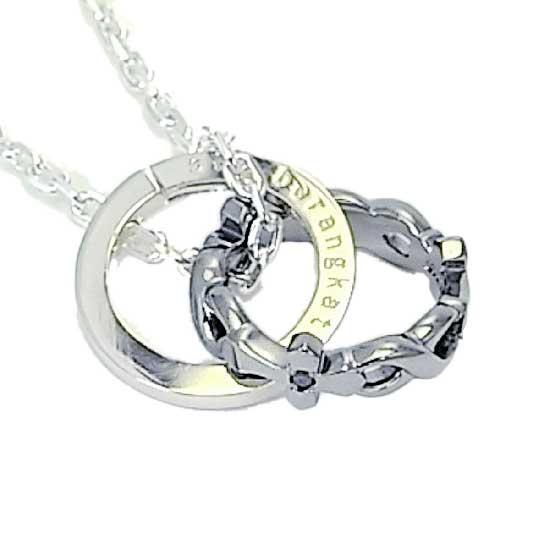 【オルブランカ】シルバー925 ブラックロジウム ブラックダイヤモンド ペンダント メンズ ネックレス
