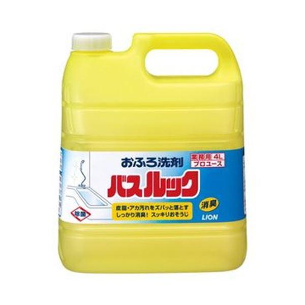 (まとめ)ライオン バスルック 業務用 4L 1セット(3本)【×3セット】
