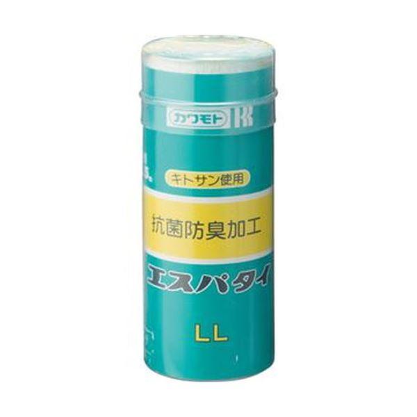 (まとめ)カワモト 抗菌エスパタイ LL 9.0cm×3.5m 1巻【×50セット】