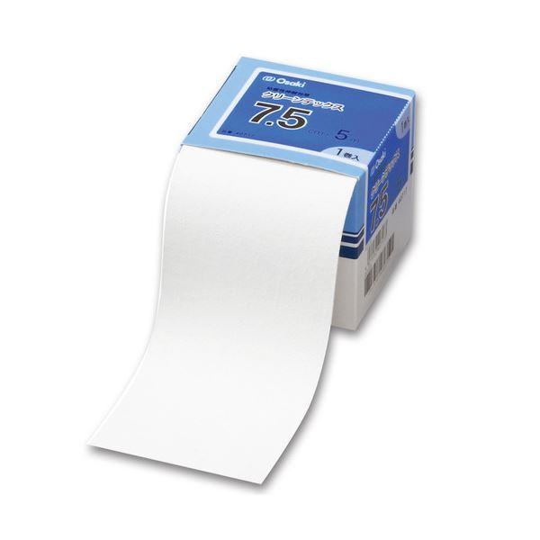 (まとめ)オオサキメディカル クリーンテックス7.5cm×5m 40717 1巻【×10セット】