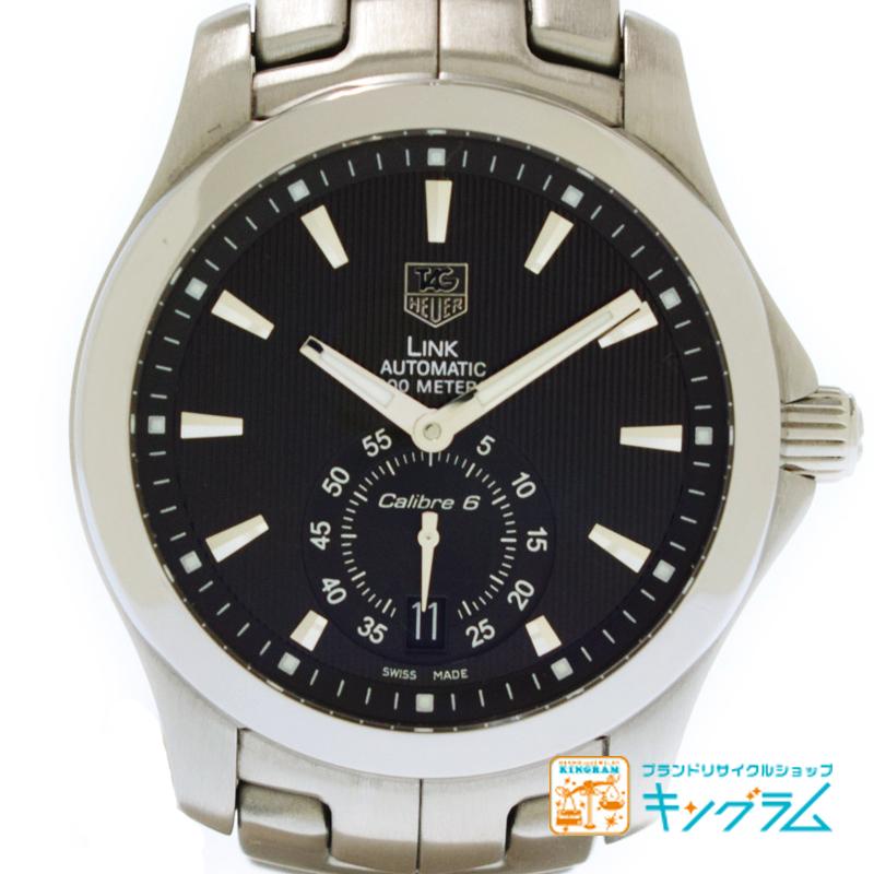 タグホイヤー TAGHeuer リンク WJF211A 自動巻き メンズ腕時計 mo【中古】